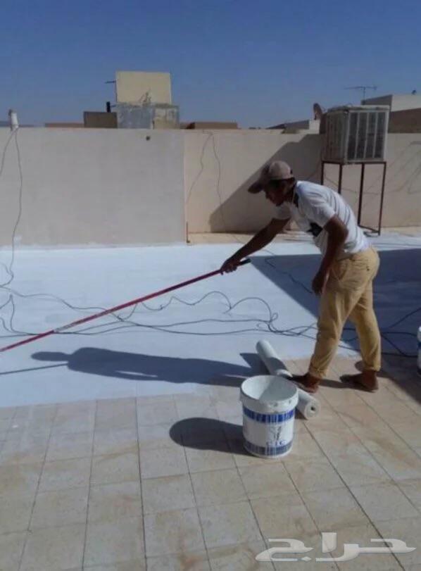 كشف تسربات عزل اسطح وخزانات حل مشكلة فاتورة  المياة