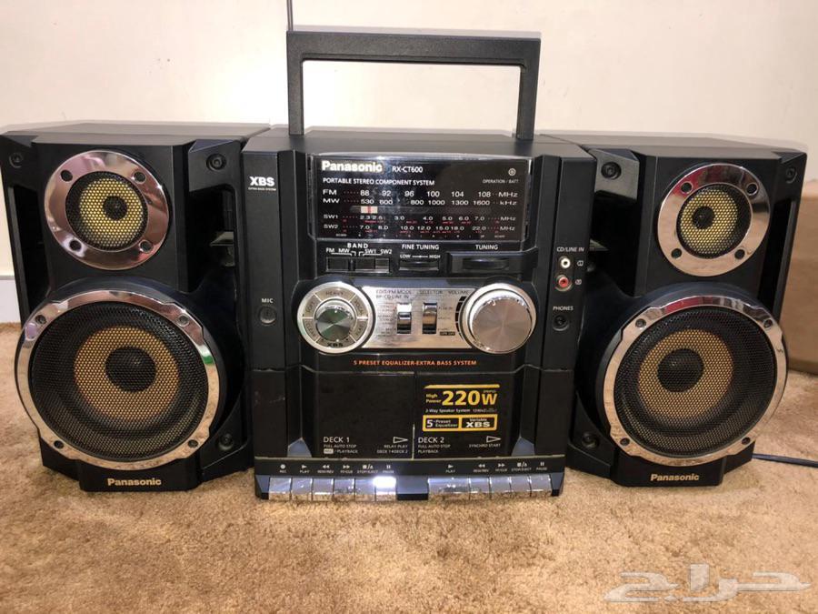 مسجل وراديو للبيع