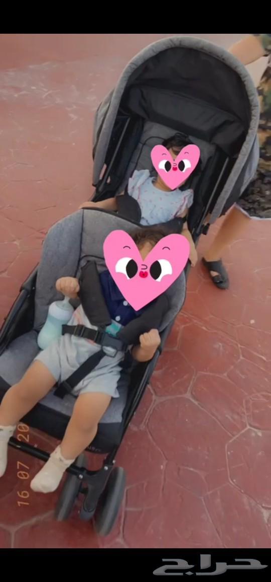 عربية أطفال اسود رمادي