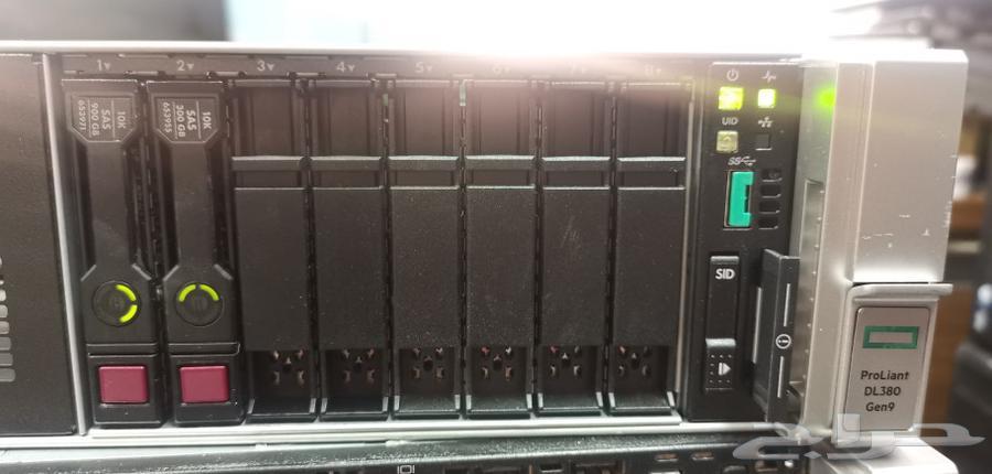 سيرفرHP G9 رام 128 DDR4 معالجين V3
