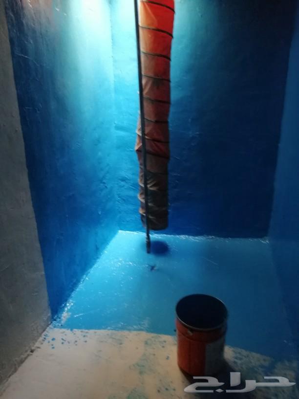 كشف تسربات المياه تسريب حمام عزل خزانات