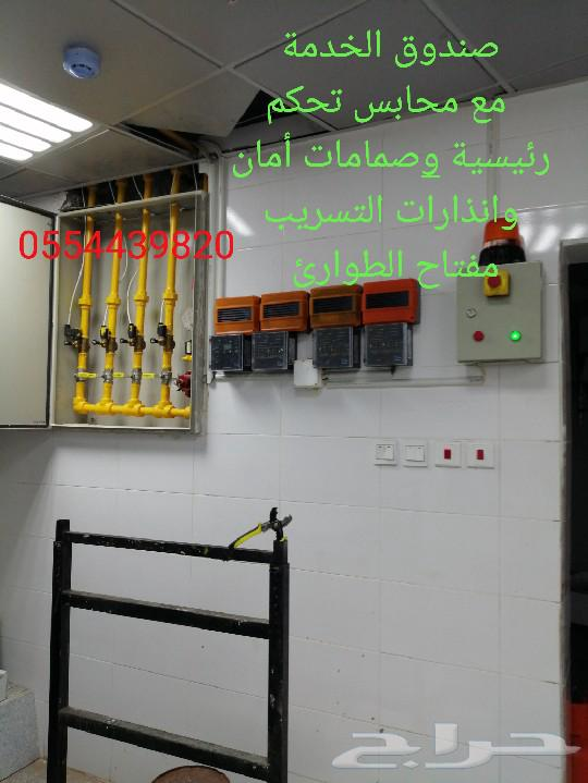 تمديدات غاز مركزي (مؤسسة تمكين الغاز)