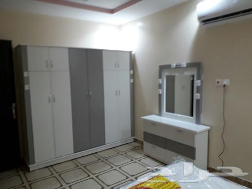 غرف نوم جديده الوان مختلفه السعر 1400ريال
