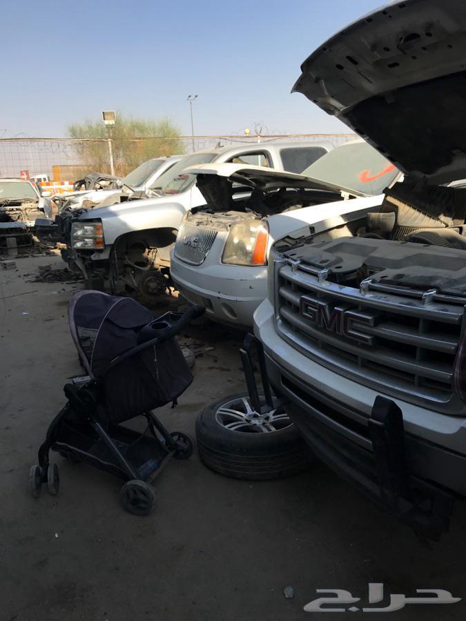 تشليح القحطاني قطع غيار GMC   فورد بضمان وتوصيل