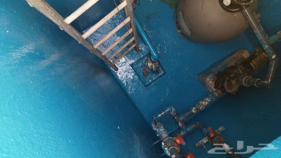 كشف تسربات عزل خزانات عزل أسطح غسيل خزانات