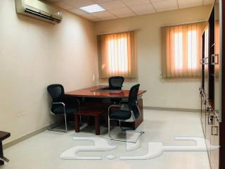 مكاتب فخمه للإيجار