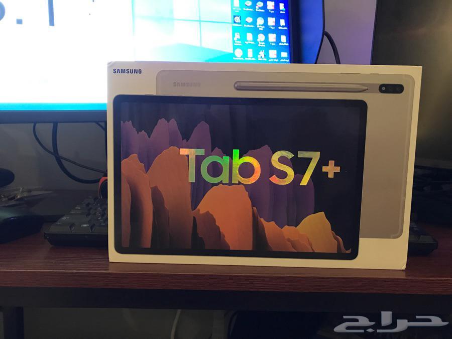 جوال سامسونج تاب s7 Samsung Galaxy tab s7 plus 256G تم البيع