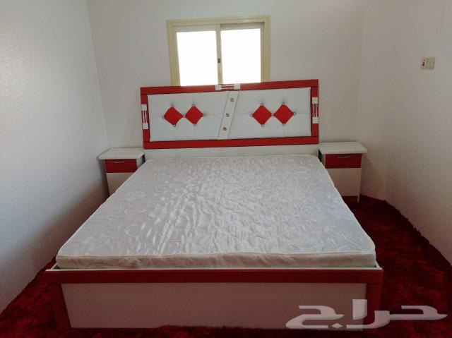 غرف نوم جديدة جاهزه السعر 1400ريال