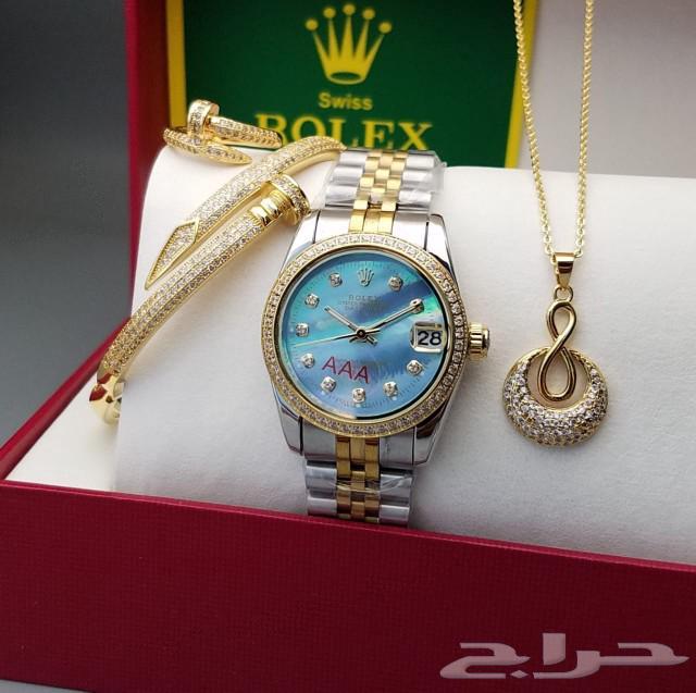 ساعات رولكس نظام تاريخ ويوم بسعر مغري