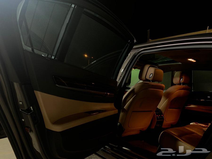للبيع بي ام 730 الفئة السابعة نظييف 2013
