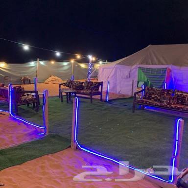 مخيم للايجار المزاحمية كبري المشاعلة