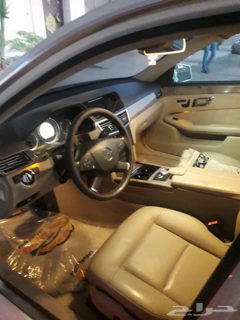 مرسيدس E350  وارد امريكا موديل 2010 للبيع