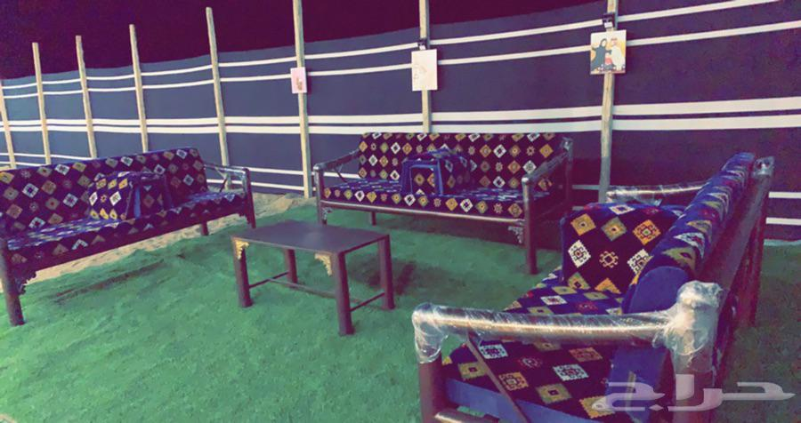 مخيم للايجار شرق ذهبان طريق الإصلاحية