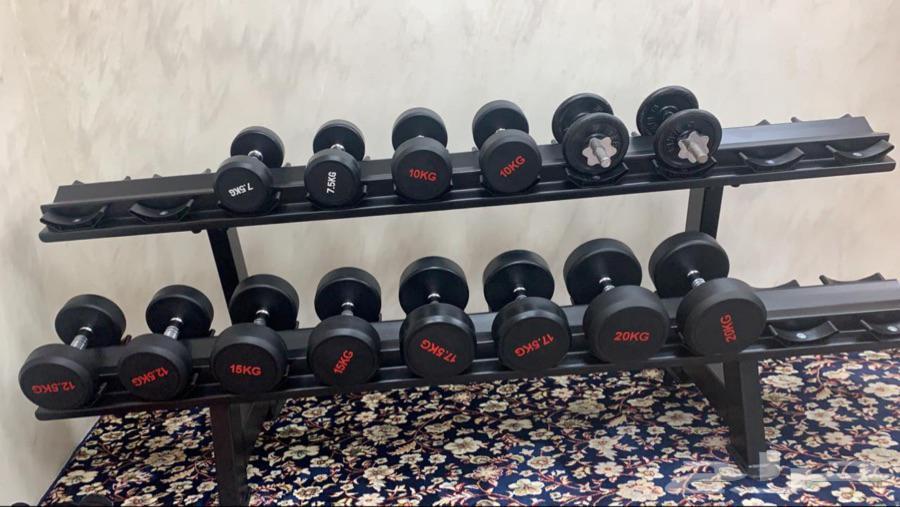 تجهيز اندية رياضية معدات رياضية اثقال اوزان شنطة 50.20 كيلو
