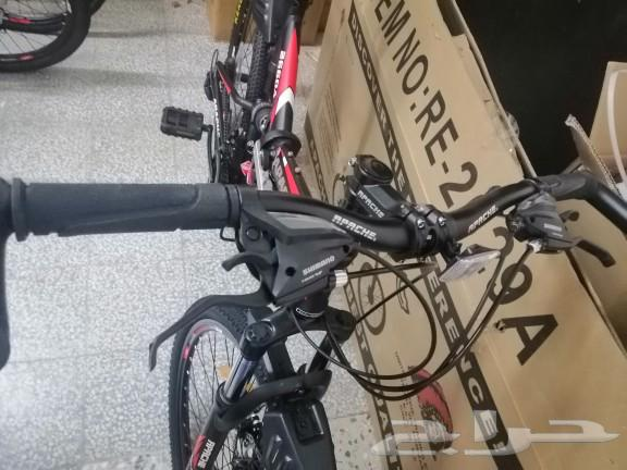 سيكل اباتشي APACHE دراجة قابله للطي تتسفط