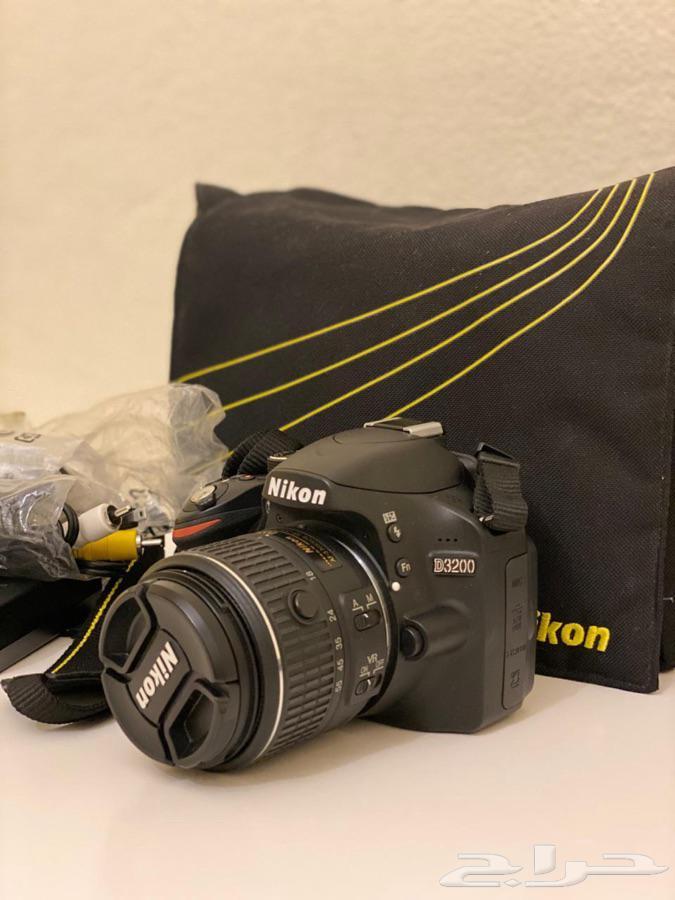 كاميرا Nikon D3200 للبيع