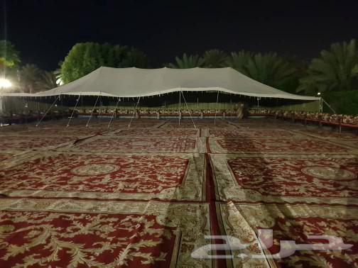 تاجير مخيمات وجلسه شعبية ودفايات وقهوجين
