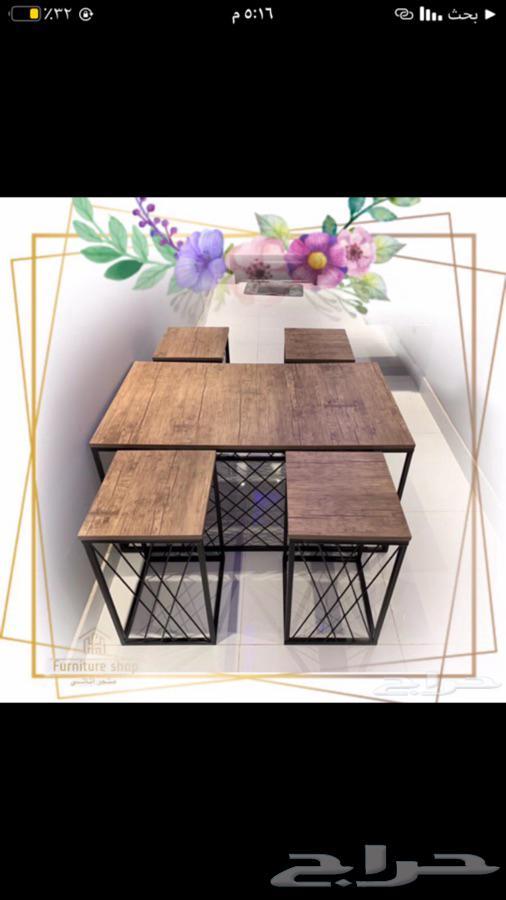 اثاث طاولات و مداخل و ضيافة تفصيل و جاهز