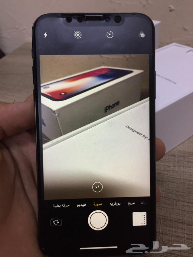 ايفون اكس 64GB للبدل فقط
