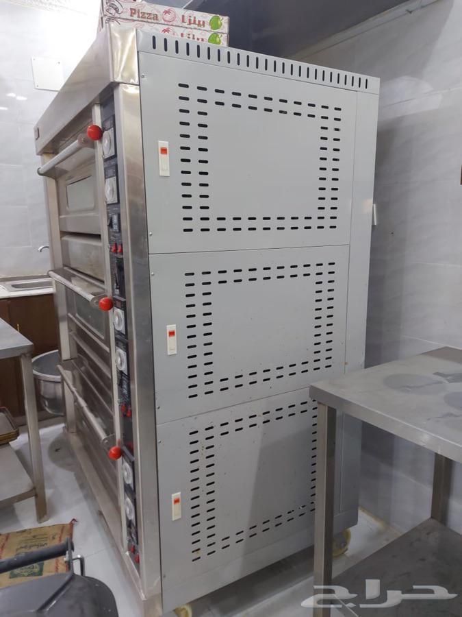 معدات مطعم مستعمل نظيف للبيع
