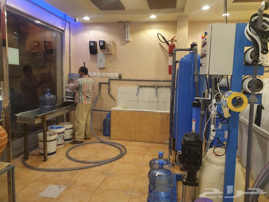 محطة مياه متكامله للتقبيل