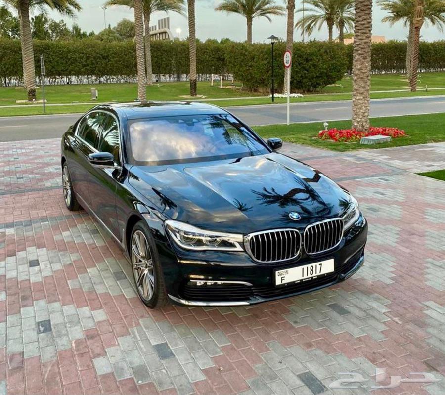 بي ام دبليو 730 لارج 2018 فل اوبشن بالامارات دبي ضمان دولي