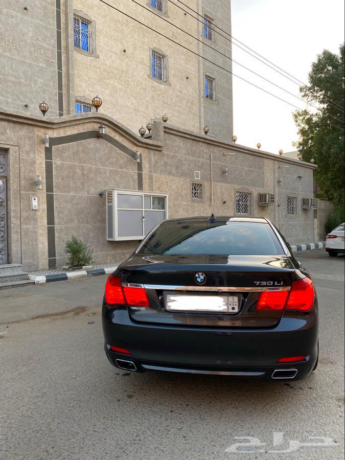 بي ام دبليو 2012 فئة 730 ممشى قليل - BMW730 - 2012