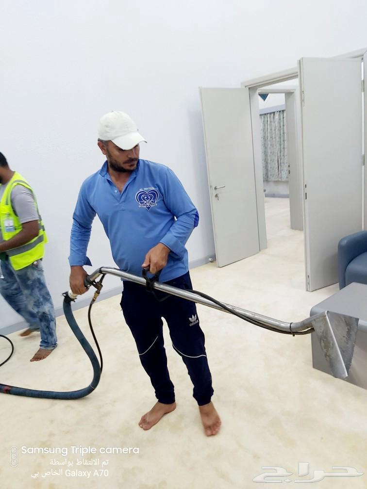 شركة غسيل كنب سجاد موكيت مساجد بالبخار بمكة