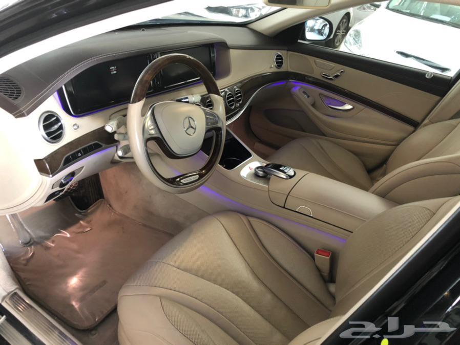 مرسيدس S400 جفالي ماشي 54 الف كم 2016