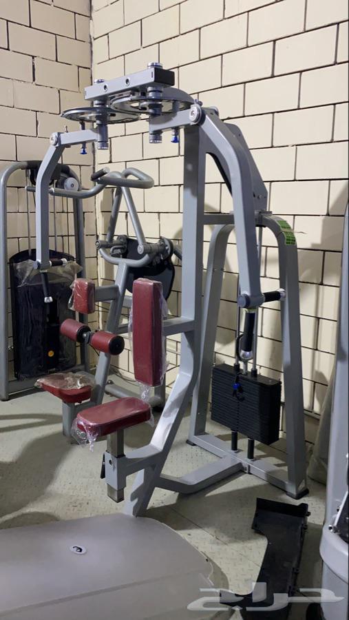 اجهزة رياضية تجهيز اندية اثقال سميث بور رك كيبل كروس دنابل