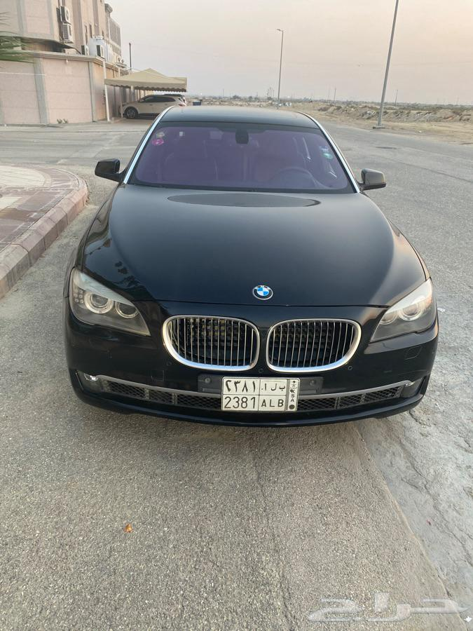BMW 2012 LI 740