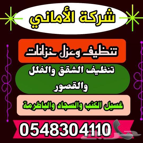 تنظيف وتعقيم شقق وخزانات بالمدينة المنورة