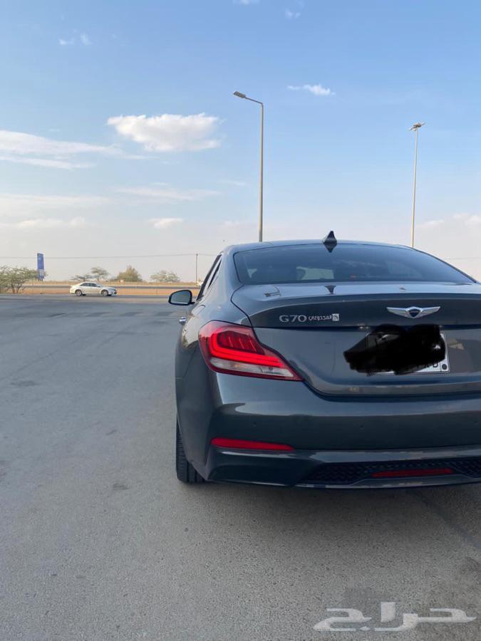 جينسس G70 موديل 2019 اخضر غامق سبورت
