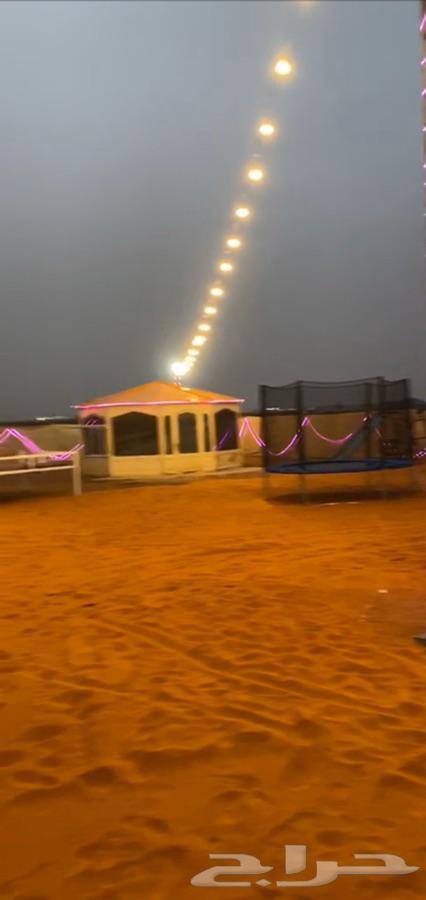 مخيم للأيجار الثمامه طريق الطوقي