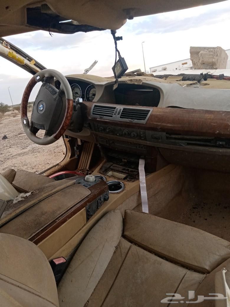 قطع BMW الفئه السابعه 2004