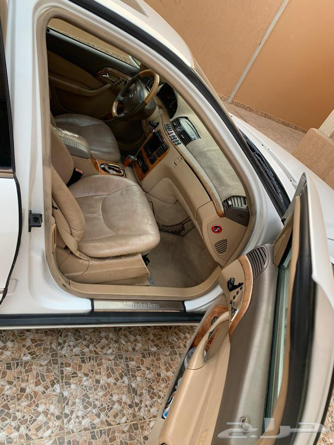 مرسيدس s320 جفالي