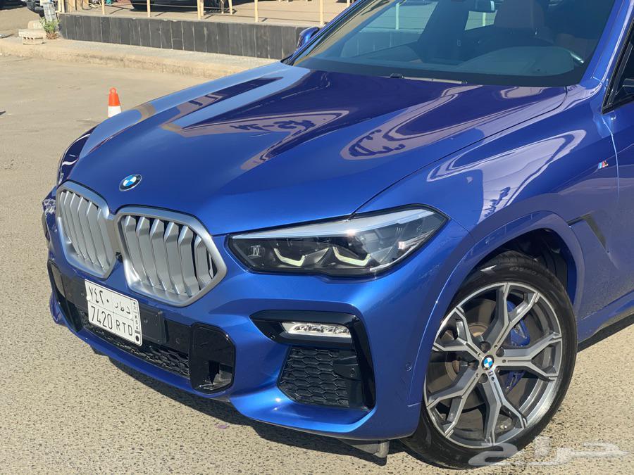 بي ام دبليو X6 2020 BMW M kit شبه جديد