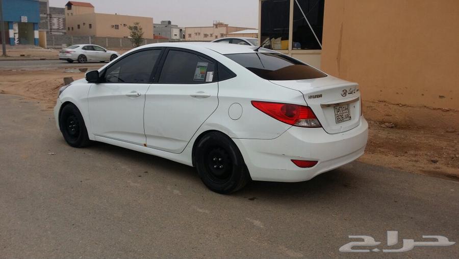 حراج السيارات | اكسنت 2012 سعودي نص فل