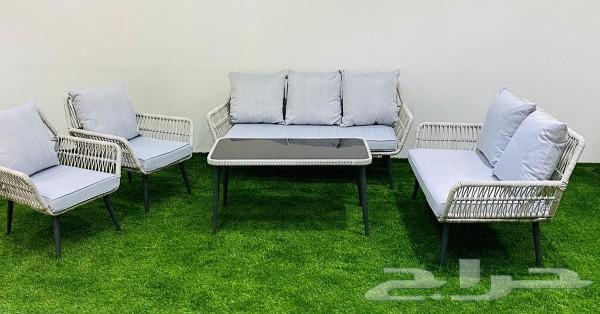 جلسات خارجيه وخيام وكراسي حدائق