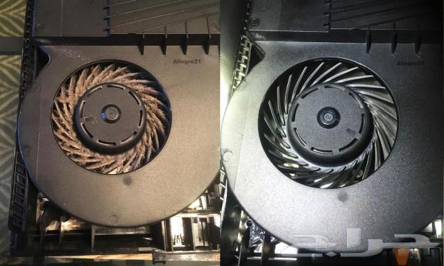 حل مشكلة ارتفاع الحرارة وصوت بلاستيشن4 ب120