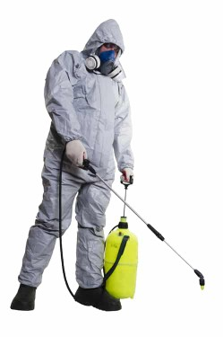 رش المبيدات لحشرات الطائرة والزاحفة