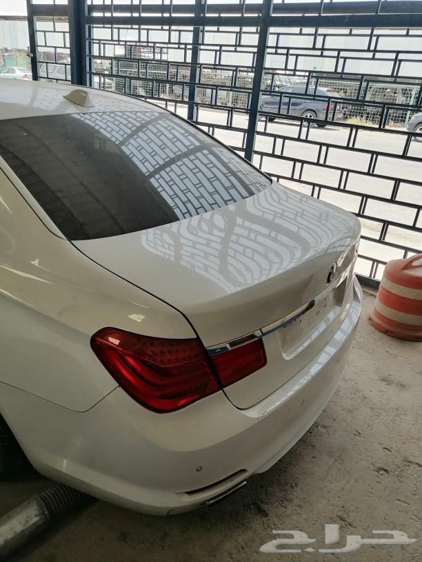 تشليح BMW 750 LI يوجد جميع القطع لل 750