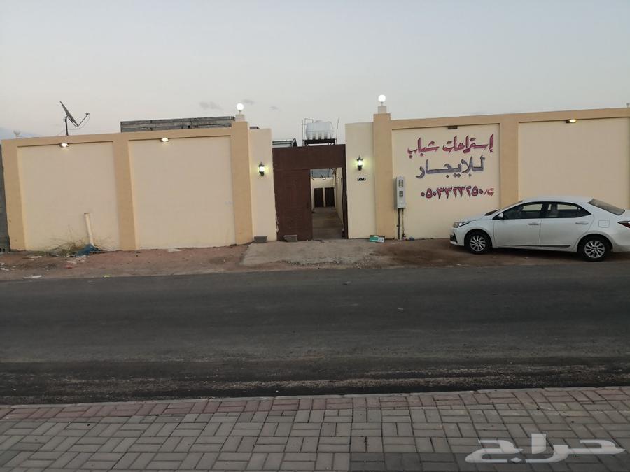 للايجار استراحات عزاب في شوران  مكيفه
