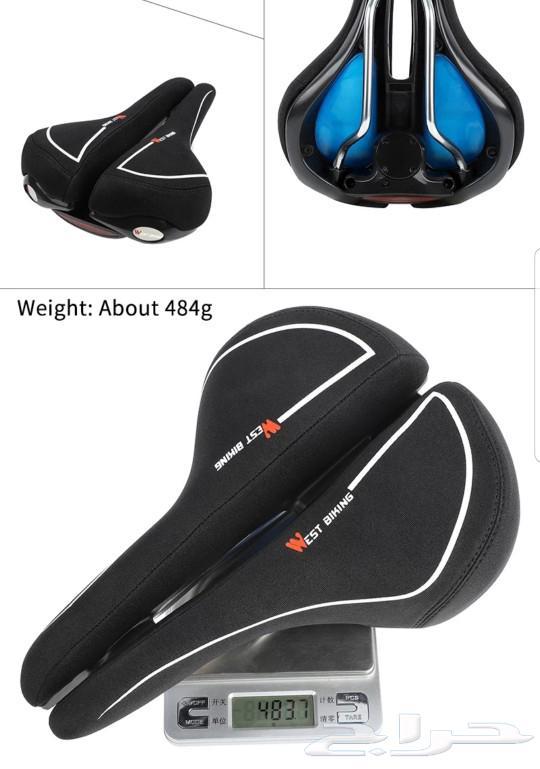 مقعد دراجة هوائية لجميع انواع الدرجات