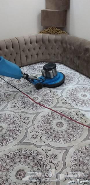 شركة تنظيف شقق منازل فلل مجالس نظافة وغسيل خز