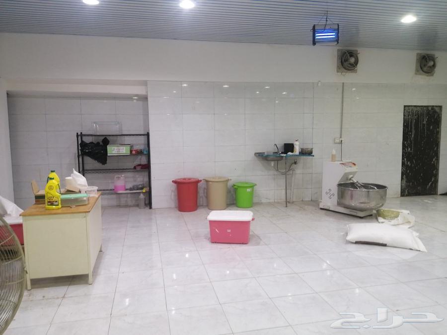 مخبز آلي للإيجار
