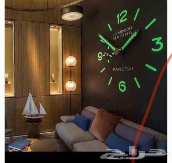 ساعات حائط3D عرض خاص لي فترة محددة فقط 90ريال
