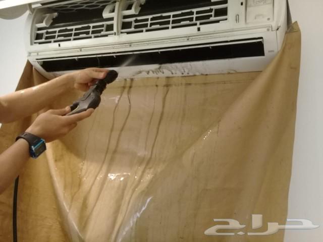 غسيل وتنظيف مكيفات سبلت شباك مع التعقيم