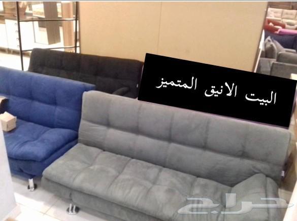 غرف نوم فخمةو كنب طبي وكنب زاويةوشاشات وكراسي