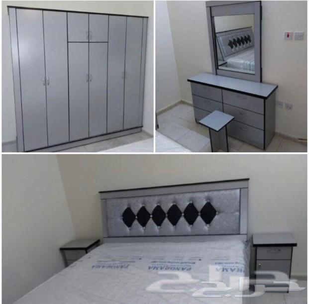 غرف نوم وطني جديده الوان مختلفه السعر1900ريال